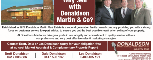 Why Sell With Donaldson Martin Capture